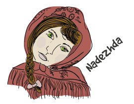 Russian translator Nadezdha