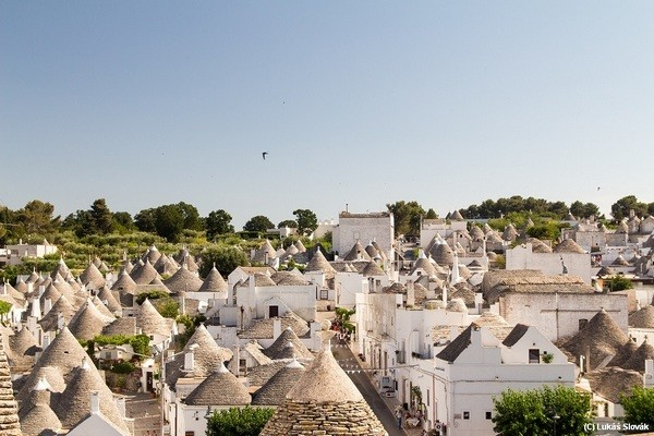 Small town Alberobello