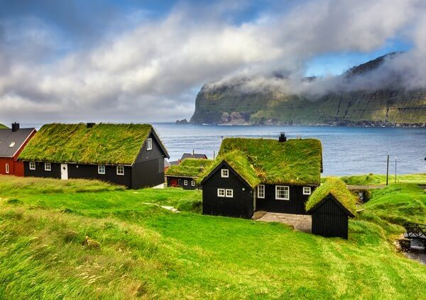 Houses on the Faroe Islands