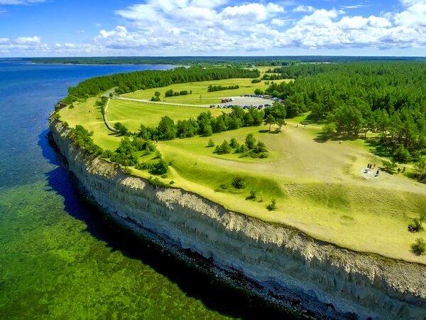 Island Saaremaa