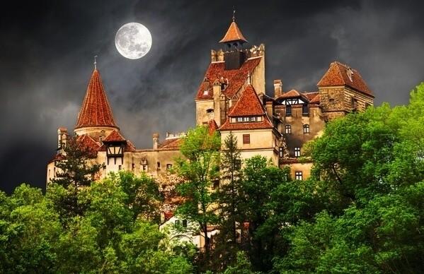 Dracula's Castle in Transylvania
