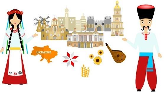 typical Ukrainian symbols