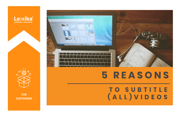 5 reasons to subtitle videos