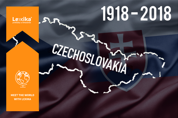 Map of Czechoslovakia