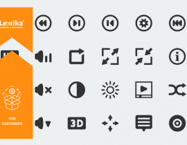 subtitling tools icons