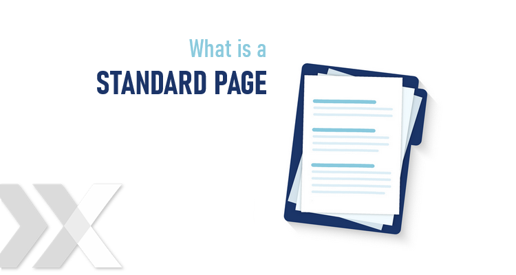 What is a standard page