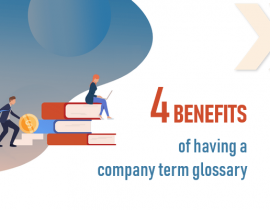 benefits of having a company glossary