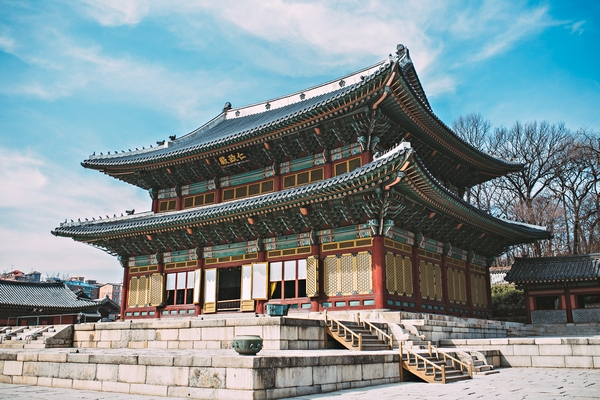 photo of the Gyeongbokgung palace