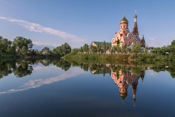 photo of a church in Almaty