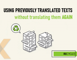 Recycle your previous translations