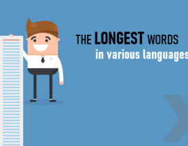 The longest words in various languages