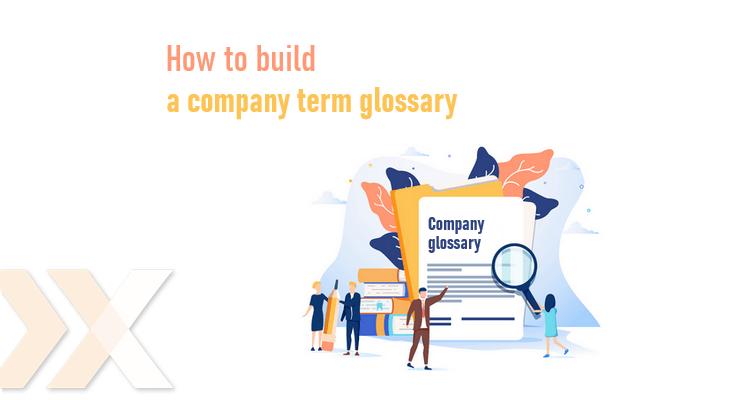 Company term glossary Lexika