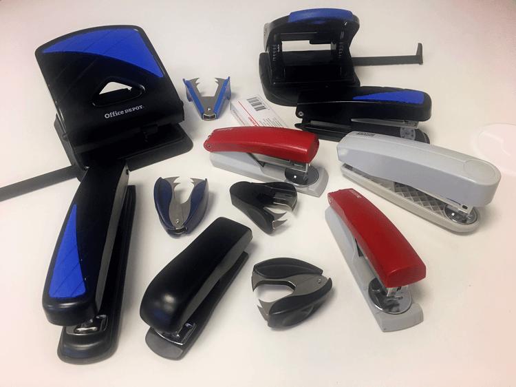 Lexika reducing amount of staplers