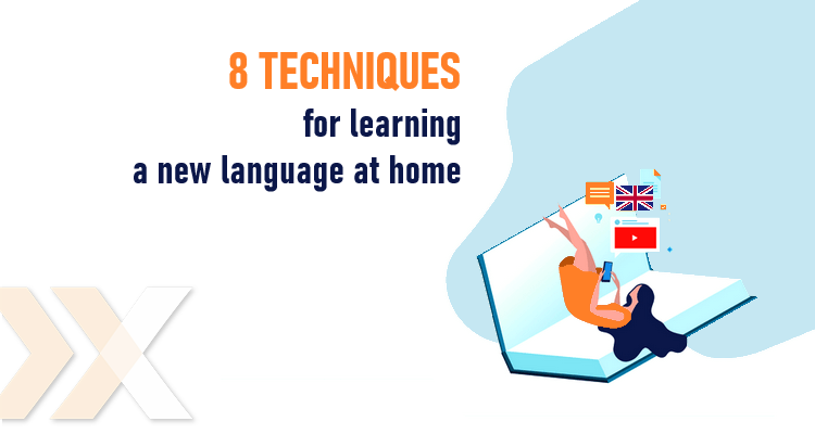 how to learn a new language from home
