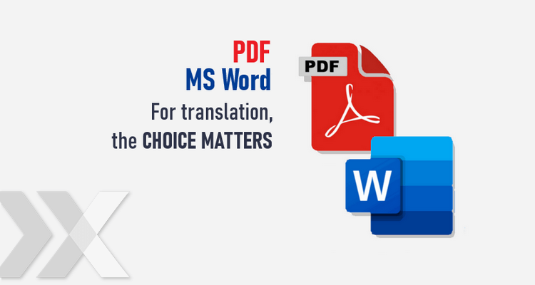 comparison of PDF and MS Word document processing