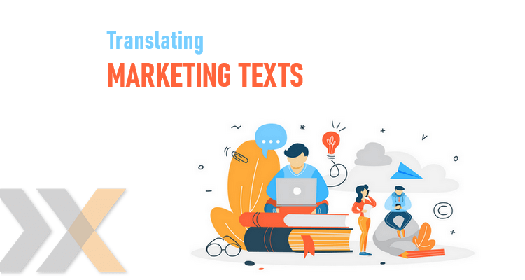 How to translate marketing text