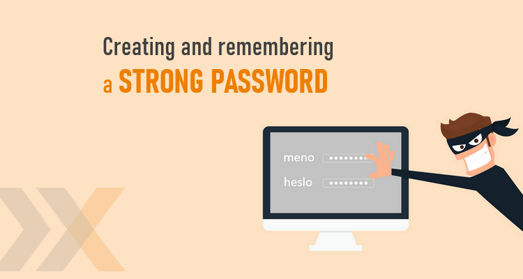 Online security - Creating and remembering a strong password