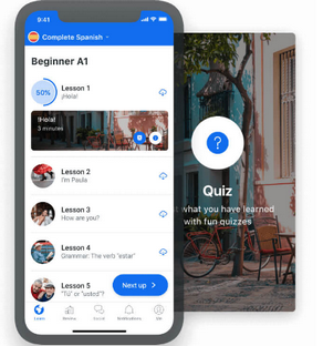 busuu smartphone app preview