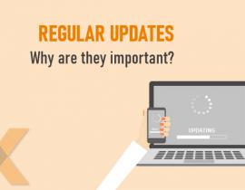 online security, updating on a regular basis